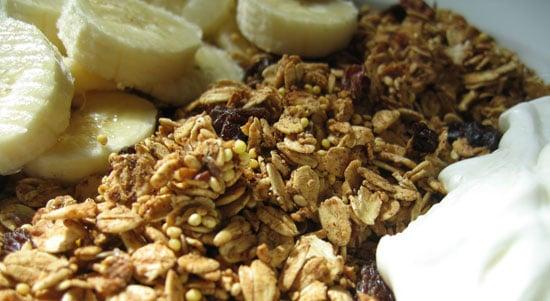 Recipe For Low Calorie Lowfat Granola Popsugar Fitness