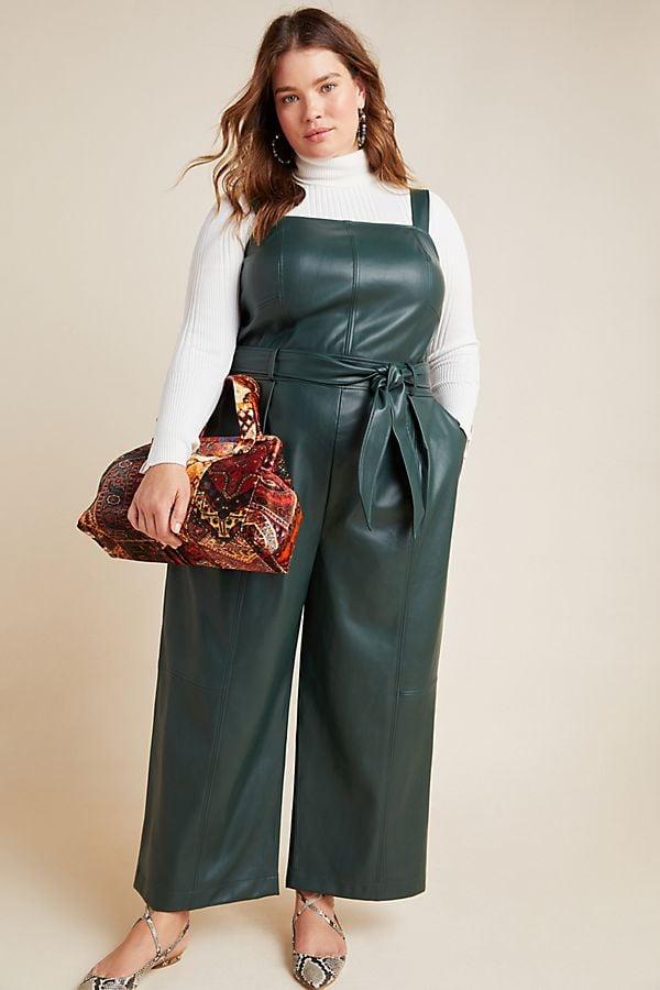 Samira Faux Leather Jumpsuit
