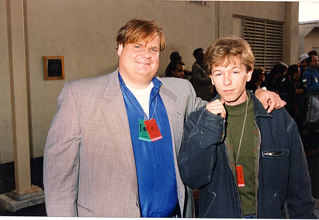 Chris Farley and David Spade brought the laughs.