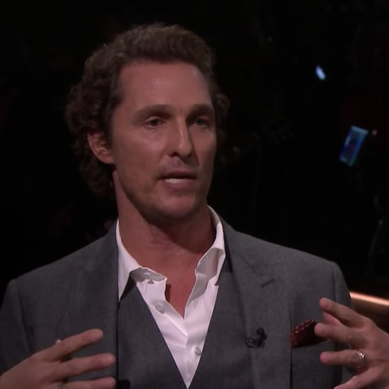 Matthew McConaughey's Story About Saving His Baby From a Ram