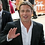 He gave a smile and wave while arriving for the Toronto International Film Festival premiere of 12 Years a Slave in September 2013.