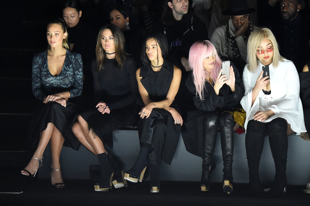 Jesinta Campbell Front Row NY Fashion Week With Kylie Jenner
