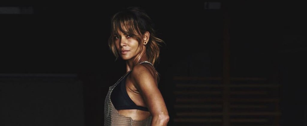 Halle Berry's 10-Minute Workout
