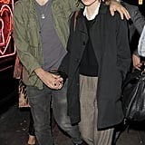 Keira Knightley with boyfriend James Righton in London.