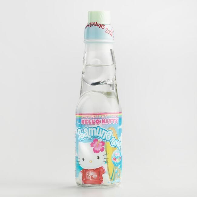 Hello Kitty Ramune Original Soda