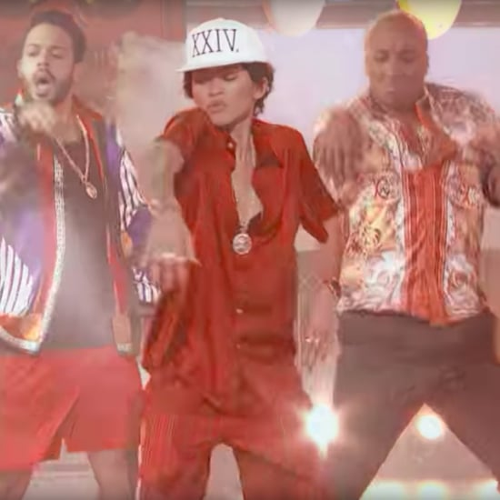 Zendaya Dressed as Bruno Mars on Lip Sync Battle 2017