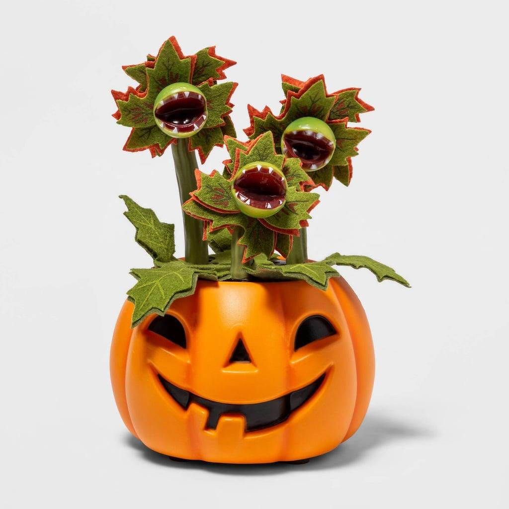 Animated Faux Halloween Pumpkin