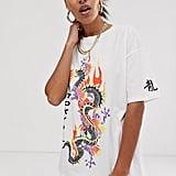 Mulan: ASOS Design Oversize Dragon Print T-Shirt