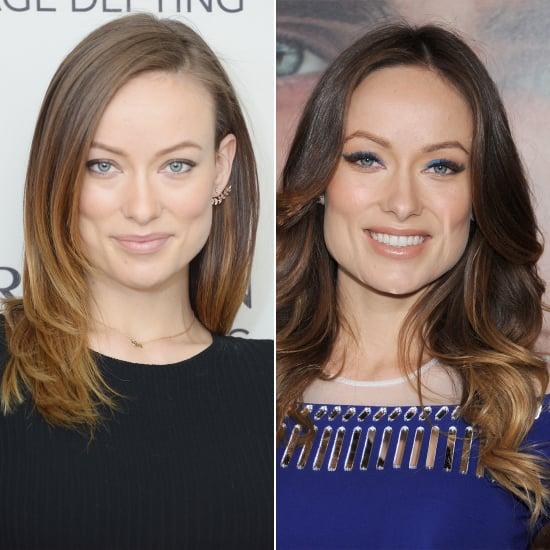 Celebrity Beauty Changes: Olivia Wilde's Long, Ombré Hair