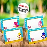 Baby Shark Tents Cards