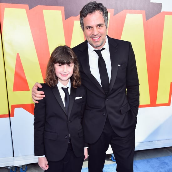 Mark Ruffalo's Daughter at MTV Movie Awards