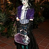 Shenae Grimes paid attention to every detail with her Frankie Stein costume for Matthew Morrison's Halloween party in 2012.