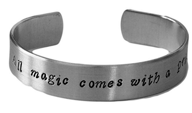 Magic Comes With a Price Bracelet ($17)