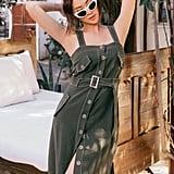 Chriselle Lim Sandrine Safari Dress
