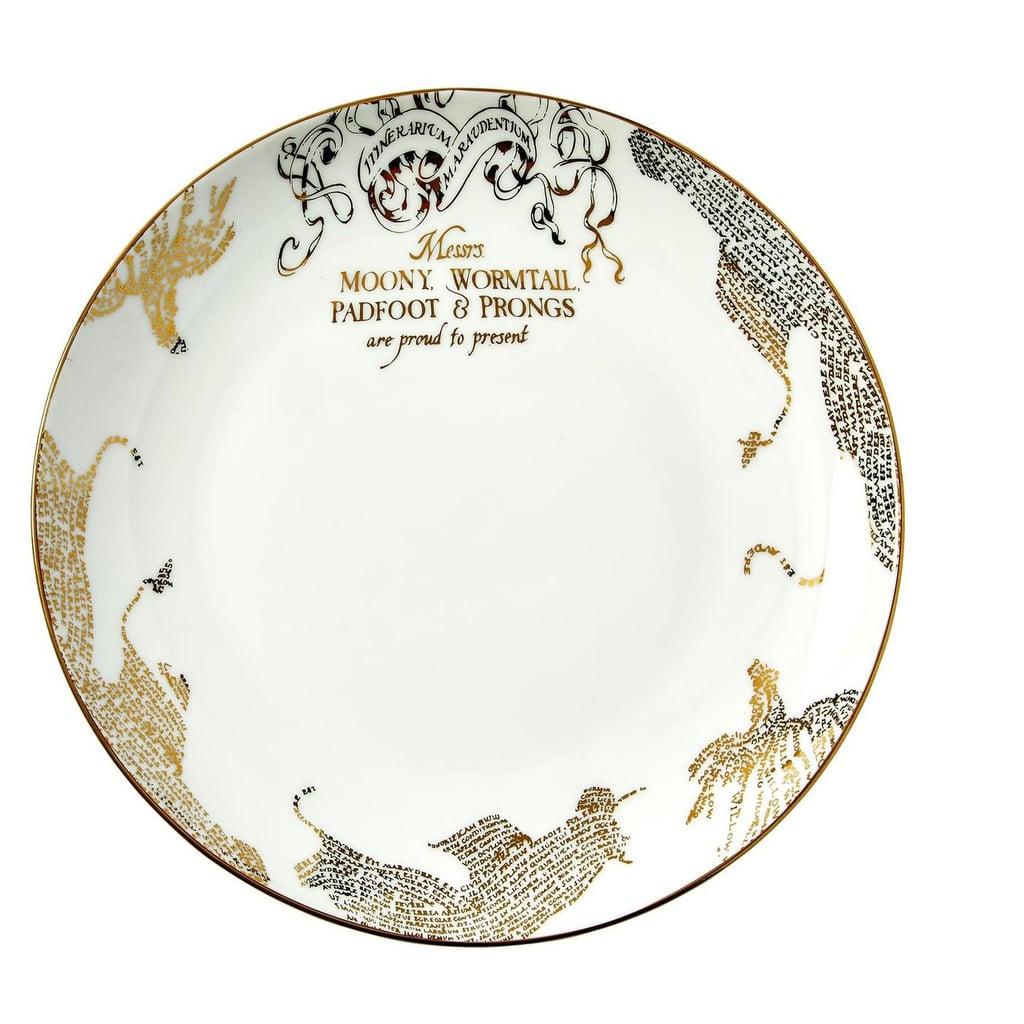 Target's Harry Potter Dinnerware Set Also Has a Marauder's Map Dinner Plate