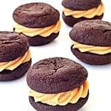 Chocolate Peanut Buter Cookie Sandwiches