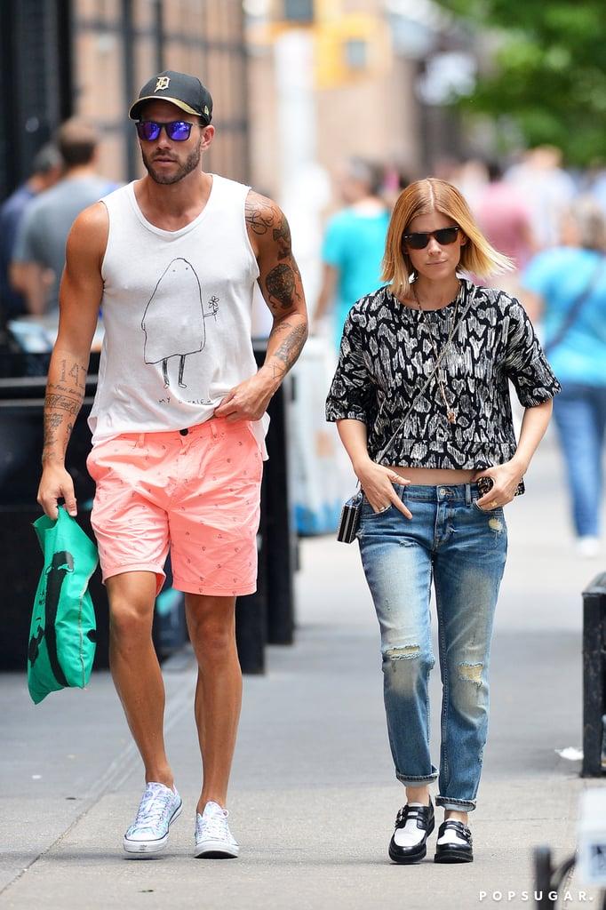 On Saturday, Kate Mara took a stroll with stylist Johnny Wujek in NYC.
