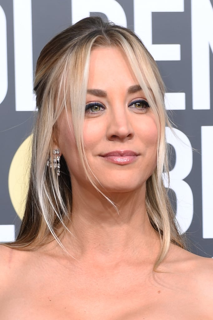 Kaley Cuoco Dress at the 2019 Golden Globes