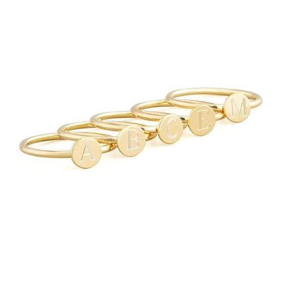 Cute Initial Rings
