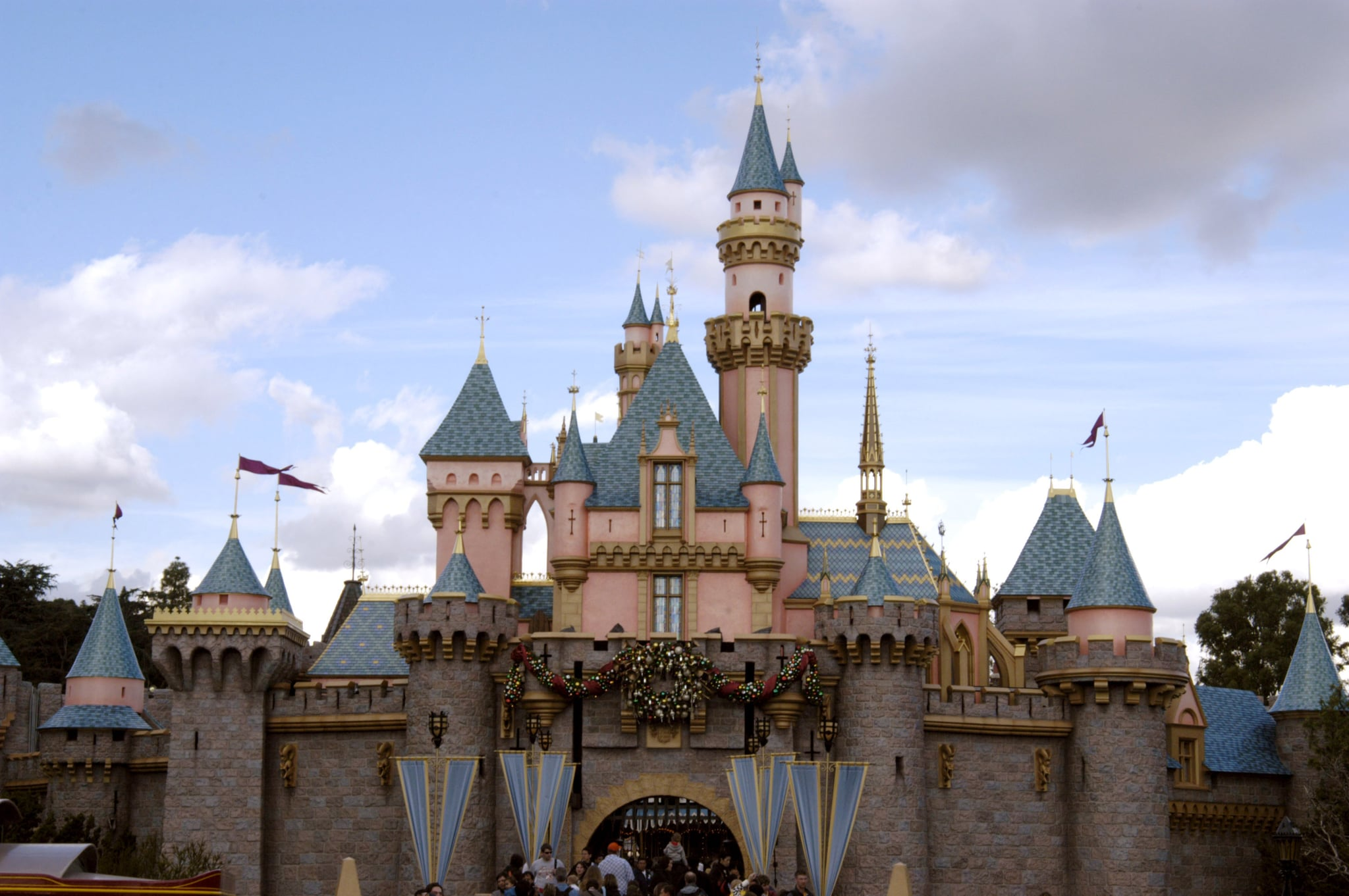 Cinderella's Castle at Disneyland Resort (Photo by Barry King/WireImage)