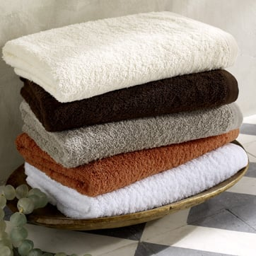 Personalized Organic Hand Towels, $18 ea.