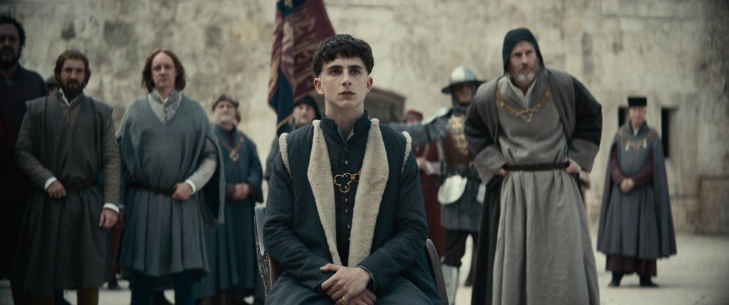 A First Look at Timothée Chalamet in The King