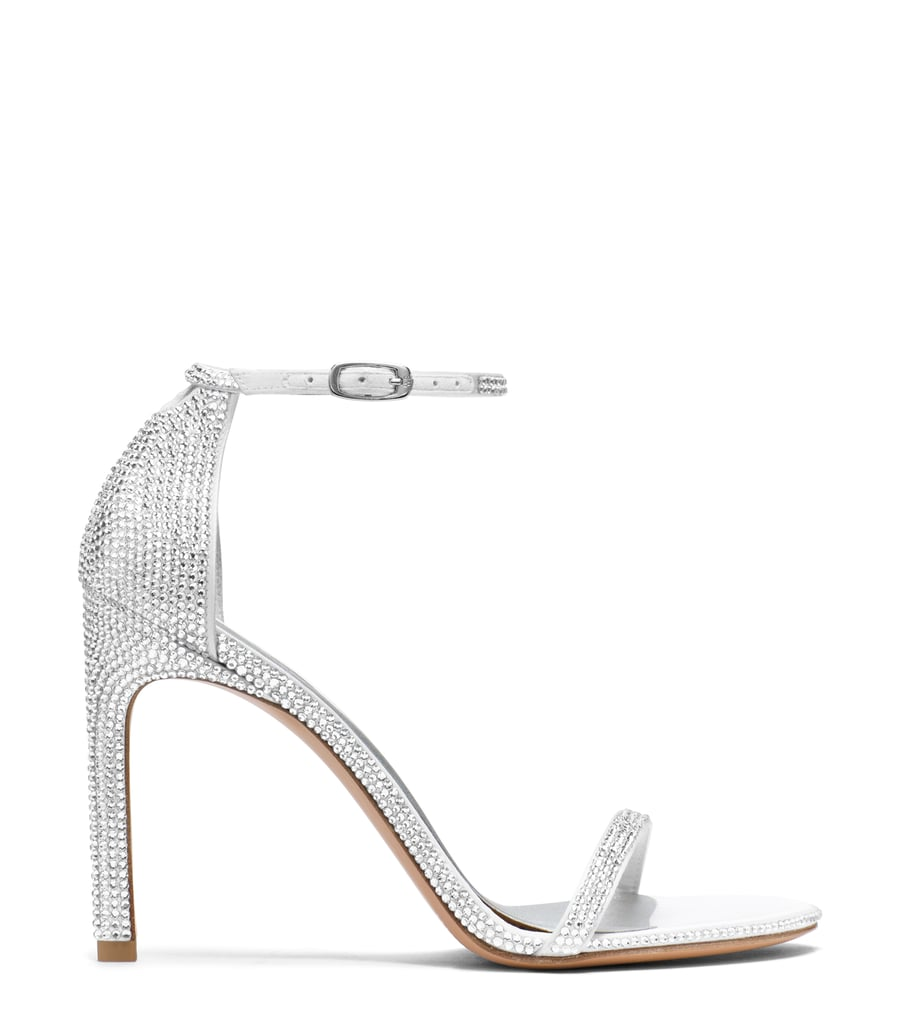 Nudist Sandal in Pavé S Crystals ($2,200)
