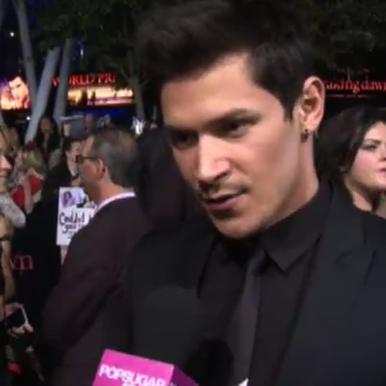 Alex Meraz Video Interview at Breaking Dawn Premiere