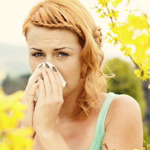 Spring Allergy Beauty Tips