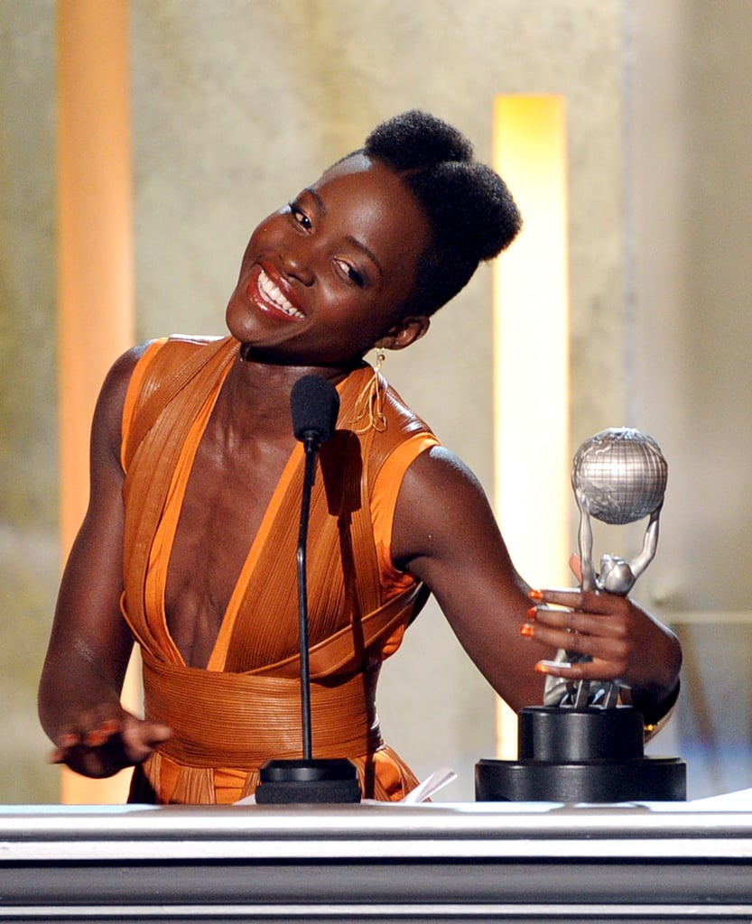 Lupita Nyong'o at the 2014 NAACP Image Awards | Photos