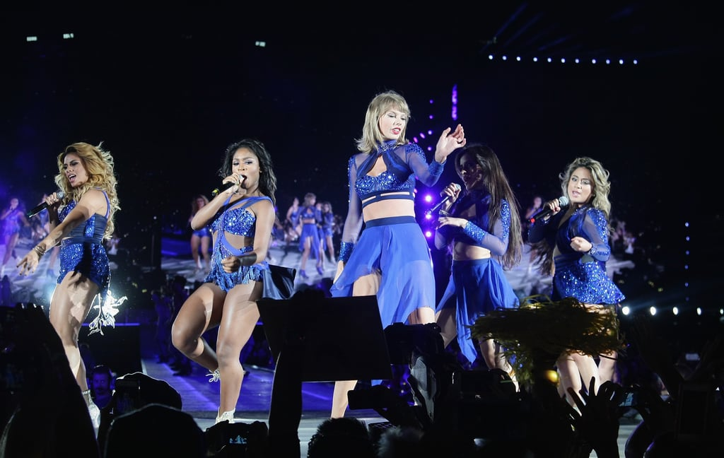 Taylor Swift and Fifth Harmony Perform Together
