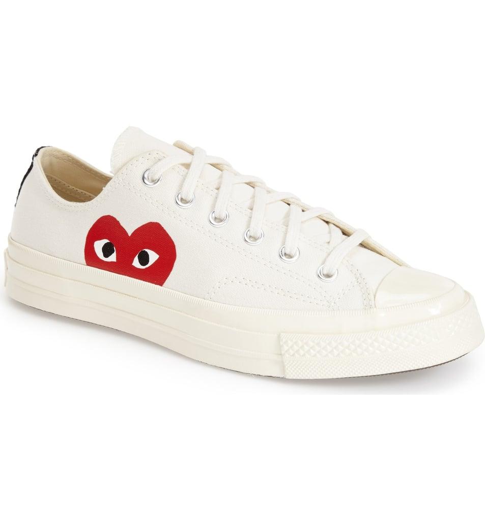 Comme des Garçons PLAY x Converse Chuck Taylor Hidden Heart Sneakers