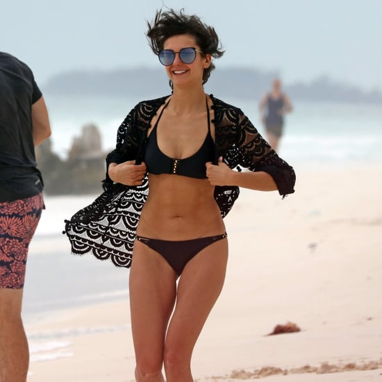 Nina Dobrev in a Bikini in Mexico January 2018