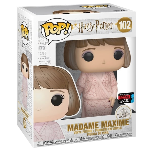 Funko Harry Potter Pop! Madame Maxime Vinyl Figure 2019 Fall Convention