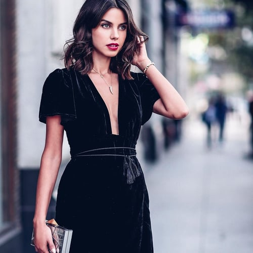 Ways to Wear Velvet With VivaLuxury