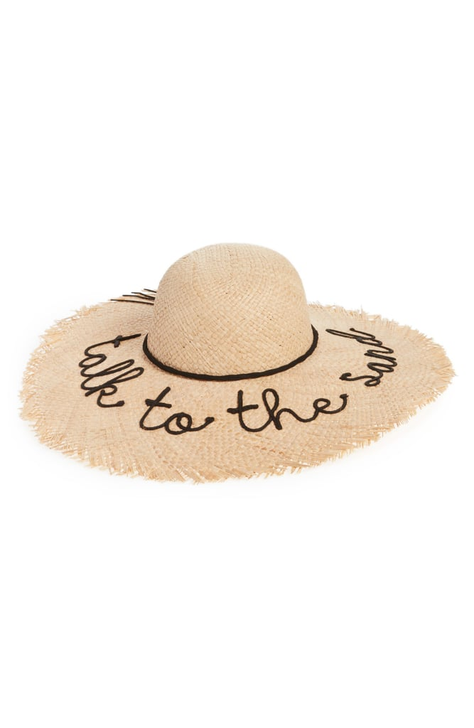 cc34736d NYC Underground Frayed Edge Floppy Straw Hat | Cute Straw Hats 2018 ...