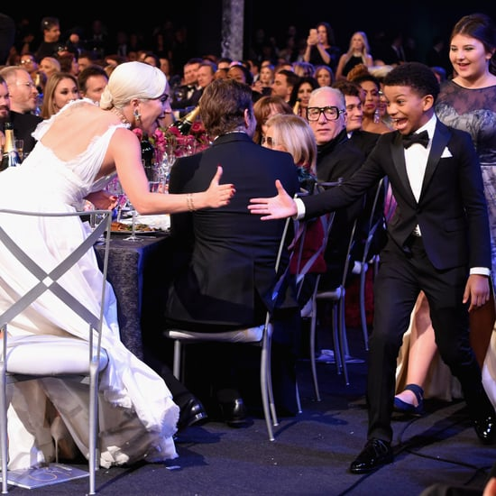 Lady Gaga and the This Is Us Cast at the 2019 SAG Awards