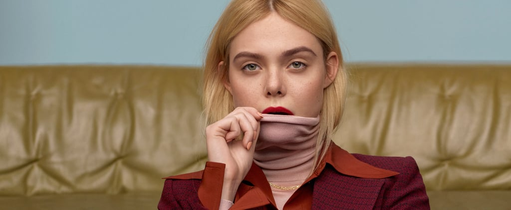 Elle Fanning's Marie Claire Interview on Her Vintage Style
