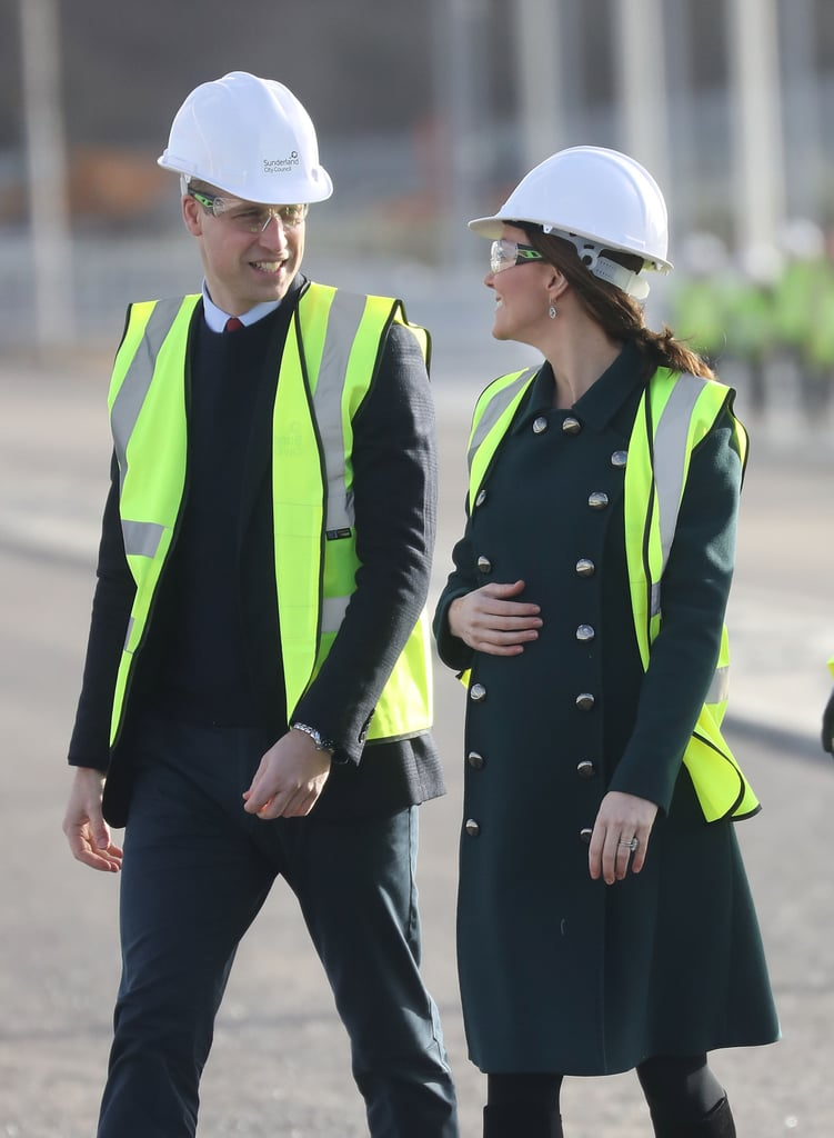 When They Twinned in Matching Construction Hats