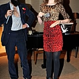 Waris Ahluwalia and Tali Lennox