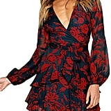 Uguest Floral Mini Party Dress