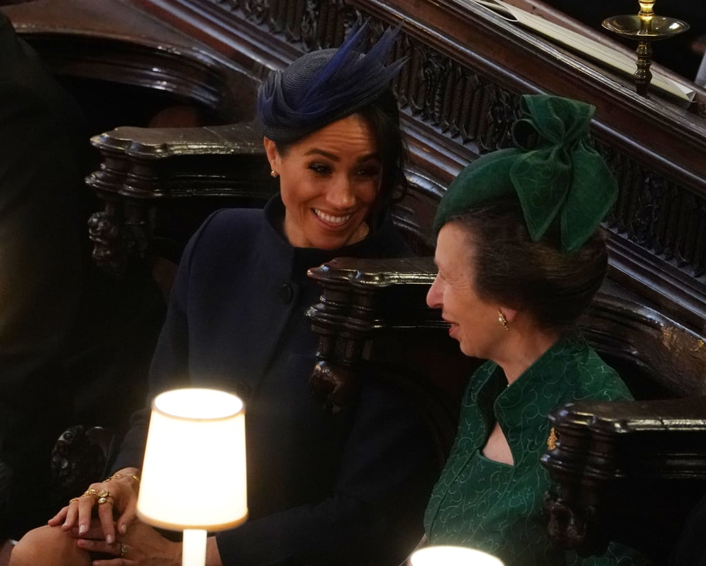 Can Someone Please Tell Me What Meghan Markle and Princess Anne Are Always Chatting About?