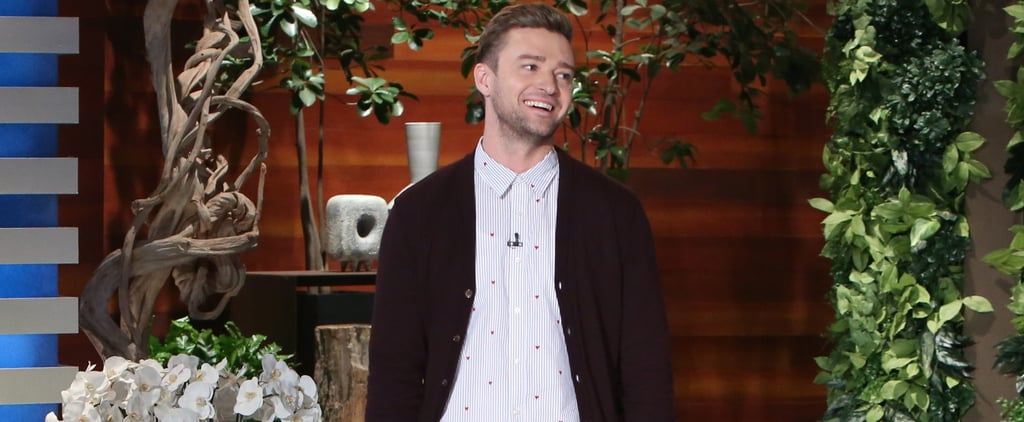 Justin Timberlake Mentions Britney Spears While Playing the 5 Second Rule Game on Ellen