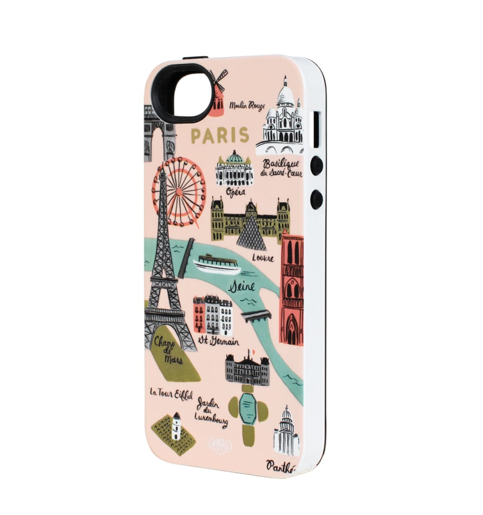 She'll remember her travels to Paris every time she looks at her phone (which is a lot!) with this Rifle Paper Co. Paris Map 5/5S iPhone Case ($32).