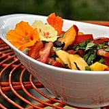 Tomato and Peach Salad