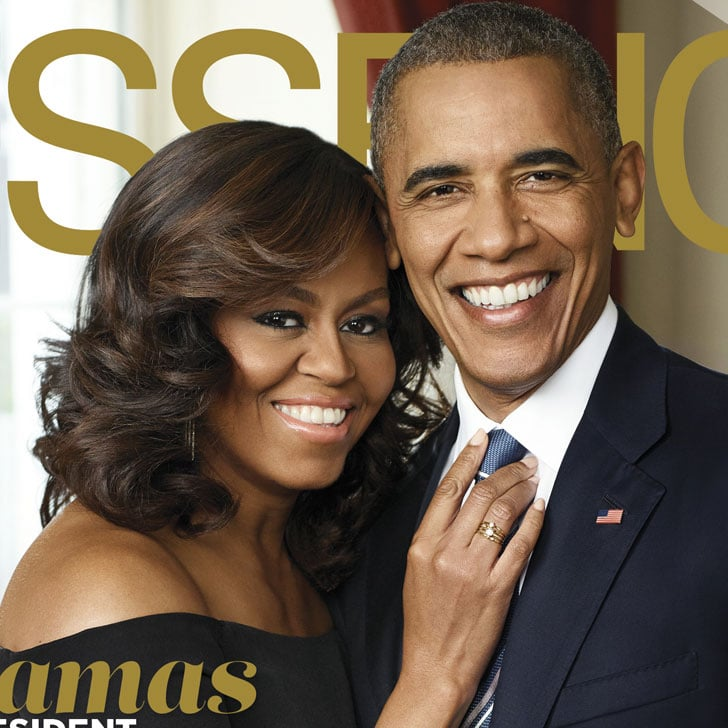 Barack And Michelle Obama On October 2016 Essence Cover