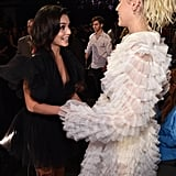 Miley Cyrus and Vanessa Hudgens at Billboard Music Awards
