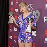 Taylor Swift at the iHeartRadio Music Awards 2019