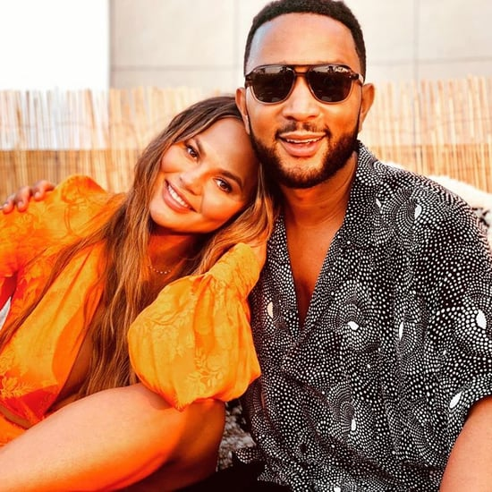 "Chrissy Teigen and John Legend on Baby News in ""Wild"" Video"