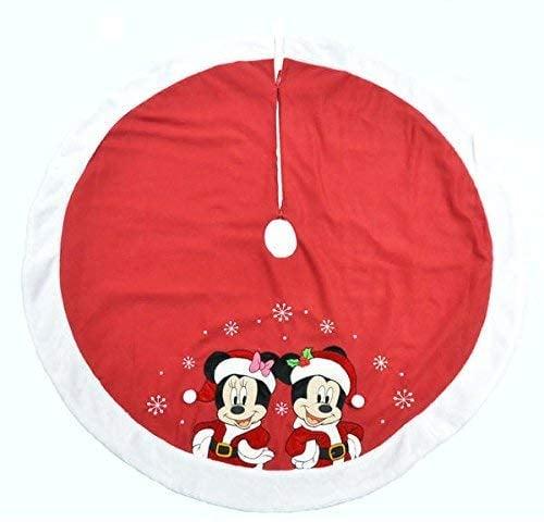Disney Mickey and Minnie Mouse Festive Tree Skirt